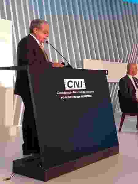 """""""A expectativa da Indústria é de que os ministros do STF reconsiderem seus votos e que a decisão da Corte traga mais segurança e não insegurança jurídica"""", disse Robson Andrade, presidente da CNI - Reprodução/Twitter"""