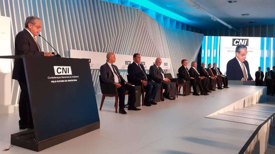 O presidente da CNI, Robson de Andrade, se poscionou contra a Nova CPMF - Reprodução/Twitter