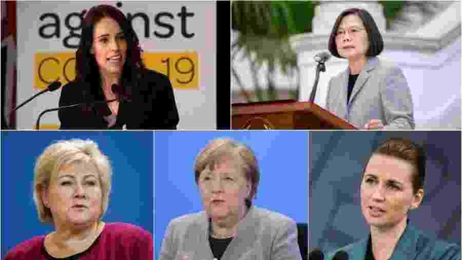 Ao redor do mundo, lideranças femininas estão a frente de algumas das melhores estratégias já vistas até aqui no combate ao novo coronavírus - BBC