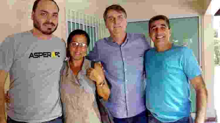 wal do açaí com bolsonaro - Reprodução/Facebook - Reprodução/Facebook
