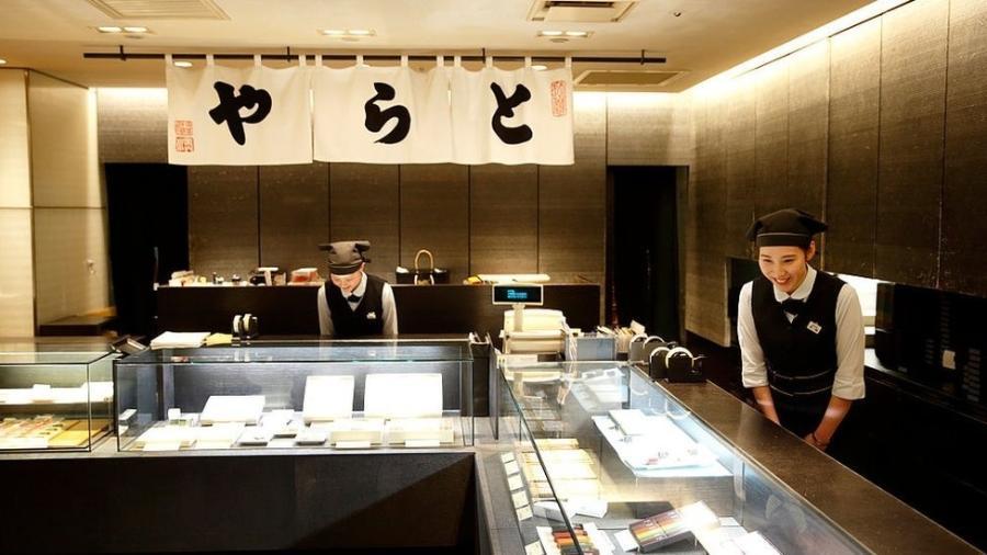 Doceria Toraya é uma das empresas japonesas que tem séculos de história: 17 gerações da mesma família a administraram - Getty Images