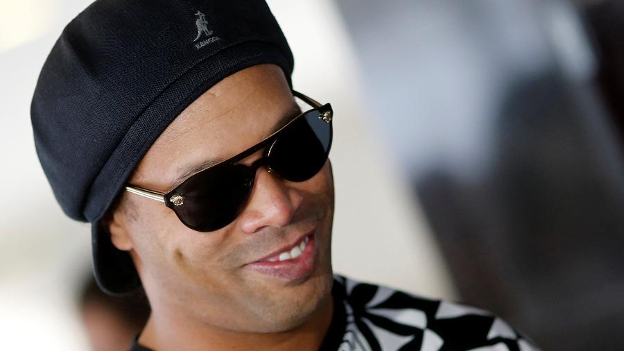 Ronaldinho Gaúcho tem último gol com a camisa da seleção lembrado pela CBF - ADRIANO MACHADO