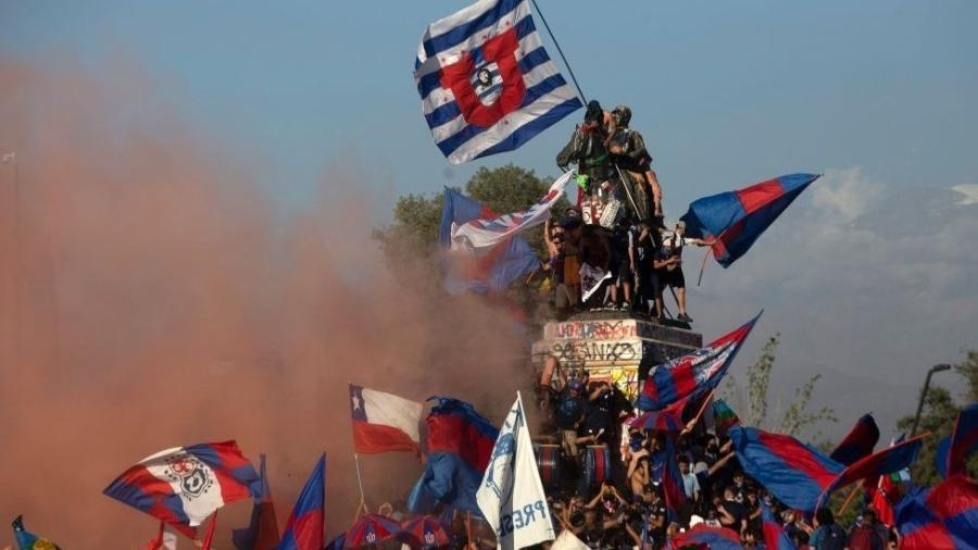 Um último marco após anos de mobilizações que colocaram o país sul-americano às portas de uma histórica eleição Constituinte - Getty Images