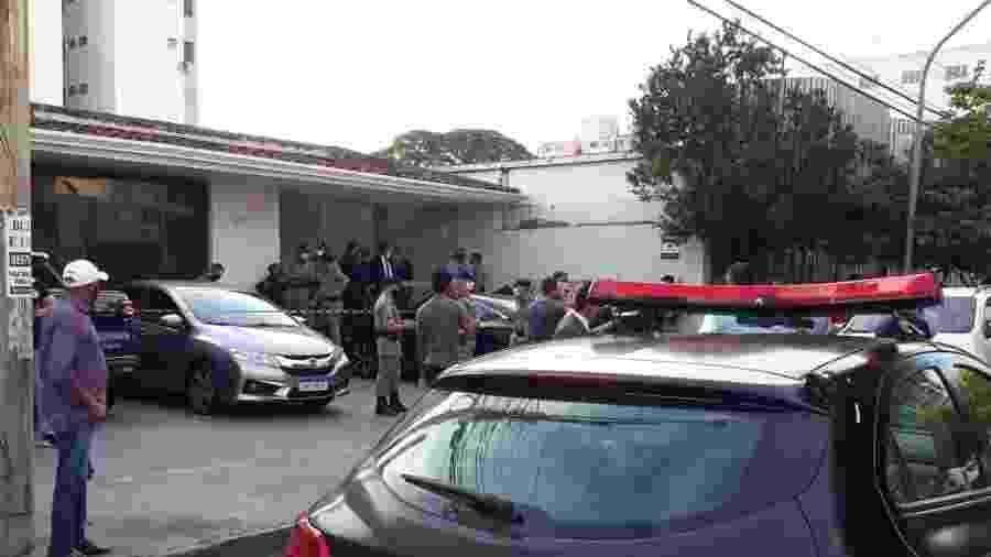 Segundo polícia, suspeitos foram ao estabelecimento se passando por clientes - Pedro Paulo Couto/Colaboração para o UOL