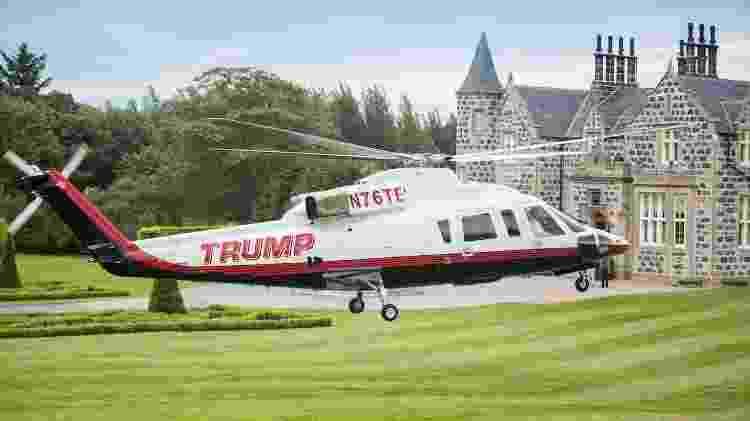 Trump helicóptero - Divulgação - Divulgação