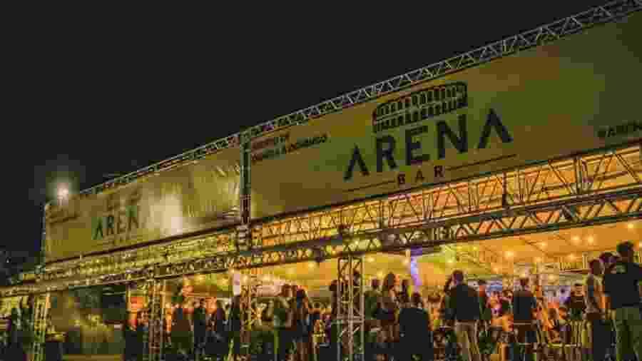 Fachada do Arena Bar, em Brasília - Reprodução/Facebook