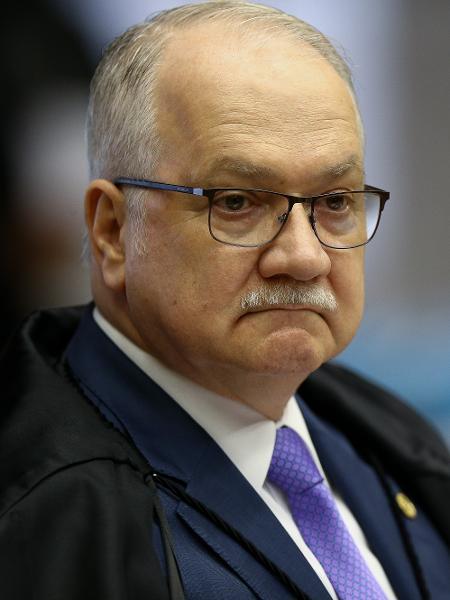 O ministro Edson Fachin no plenário do STF - Foto: Pedro Ladeira/Folhapress, PODER