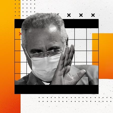 Senador Renan Calheiros (MDB-AL), relator da CPI da Covid - Frederico Brasil/Futura Press/Estadão Conteúdo/Arte UOL