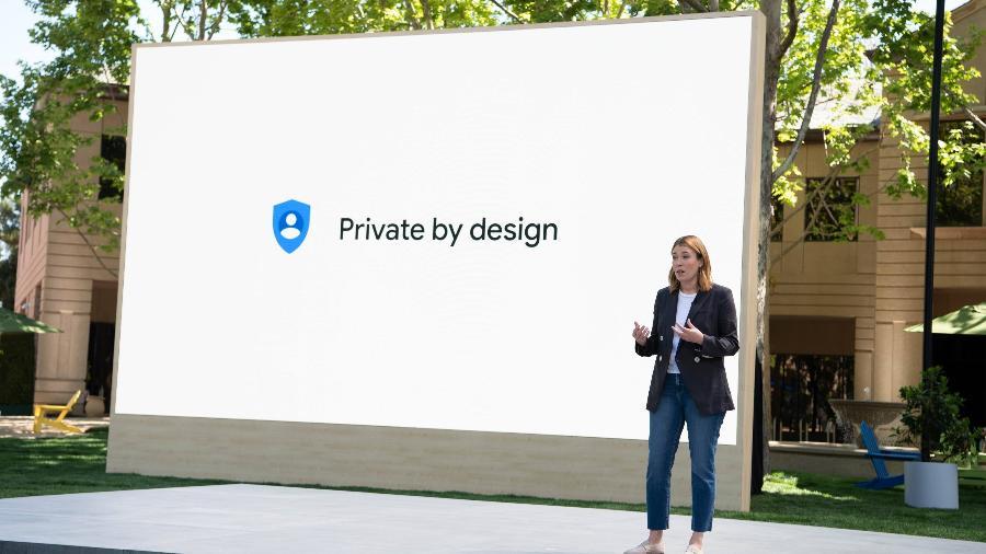 Jen Fitzpatrick apresenta ferramentas de privacidade e segurança do Google no Google I/O 2021 - Divulgação