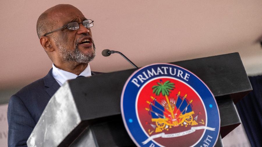 O primeiro-ministro também afastou o procurador que o acusou do assassinato do presidente Jovenel Moise - Ricardo Arduengo/Reuters