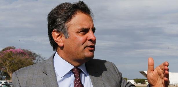 Senador Aécio Neves (PSDB-MG) é um dos principais líderes da oposição ao governo