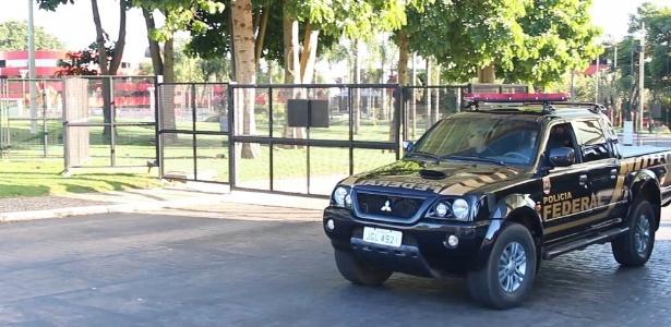 Polícia Federal deixa hotel em Brasília onde ocorreu parte da operação Xepa