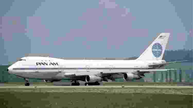 Boeing 747 da Pan Am - Reprodução - Reprodução