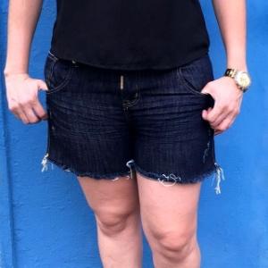 Cristiane Zambroni, 35, não consegui registrar um boletim de ocorrência em uma delegacia de Ribeirão Preto (SP) porque estava vestindo uma bermuda - Arquivo pessoal
