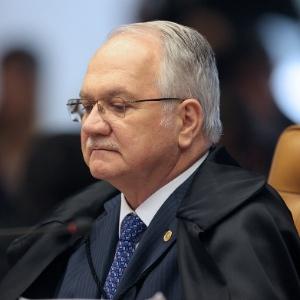 7.dez.2016 - Ministro Edson Fachin participa de sessão sobre afastamento de Renan Calheiros da presidência do Senado