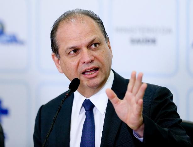 Ricardo Barros, ministro da Saúde (imagem de arquivo)