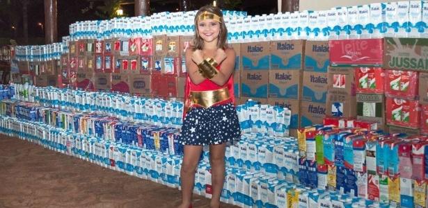 Beatriz Trivelato Simionato foi diagnosticada com linfoma aos quatro anos