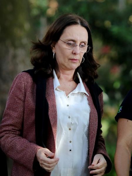 A irmã do senador Aécio Neves (PSDB-MG), Andrea Neves - Cristiane Mattos/Reuters
