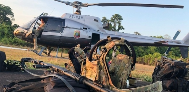 Polícia Federal deflagrada pela PF teve apoio do Ibama e Funai - Divulgação/Polícia Federal