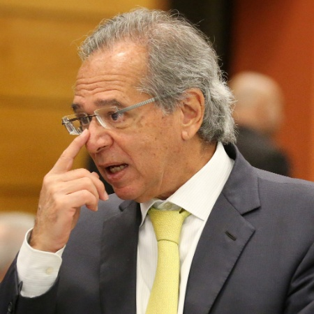 O economista Paulo Guedes durante almoço na Firjan, no Rio - Sergio Moraes/Reuters