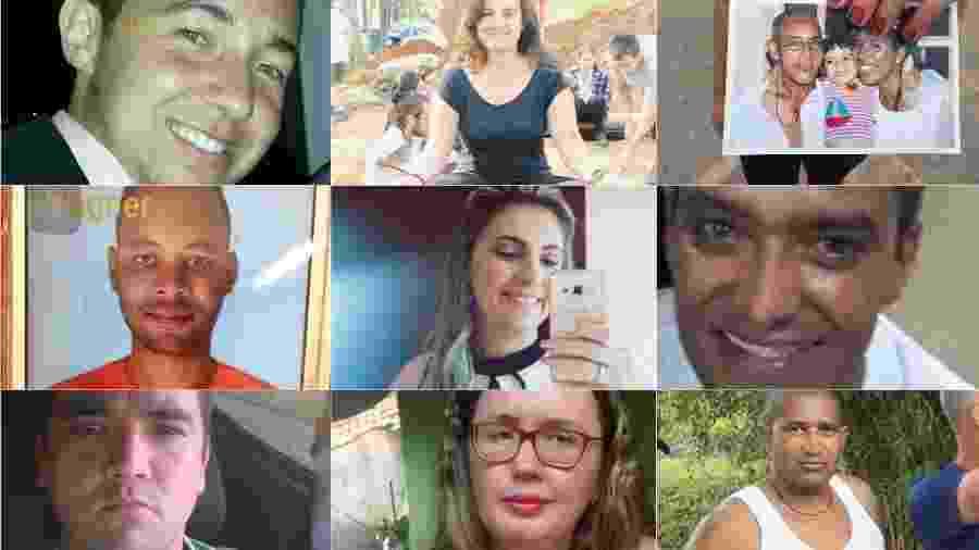Nove das mais de 280 pessoas que ainda estão desaparecidas após rompimento de barragem em Brumadinho - Arquivo pessoal