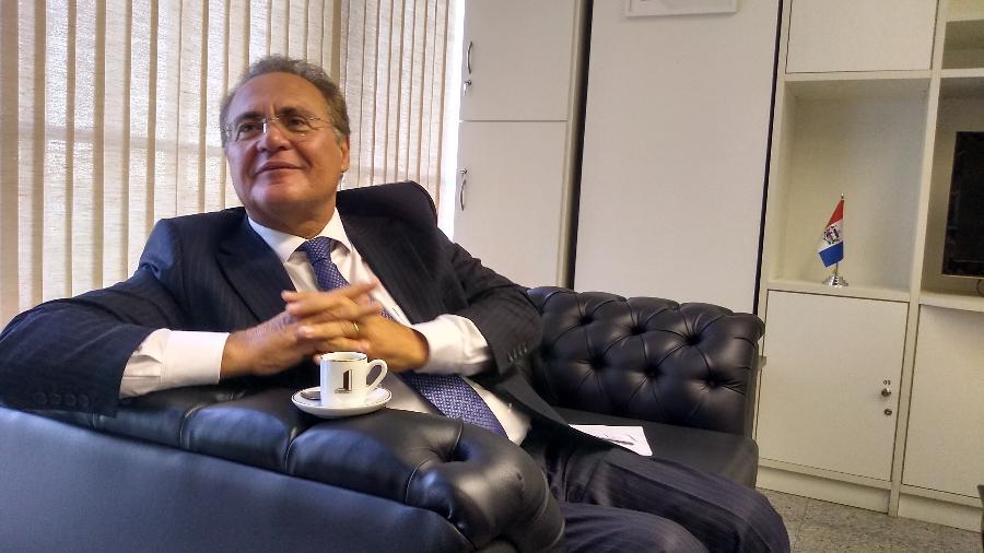 Arquivo - Com receio de perder o controle da CPI, o Palácio do Planalto chegou a pressionar aliados para tirar Renan do cargo de relator dos trabalhos - Eduardo Militão/UOL