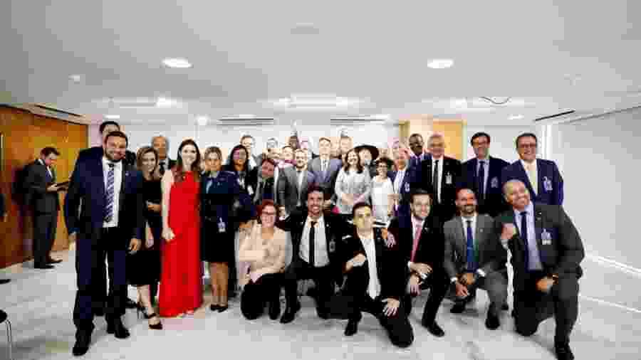 Membros do Aliança pelo Brasil - Reprodução