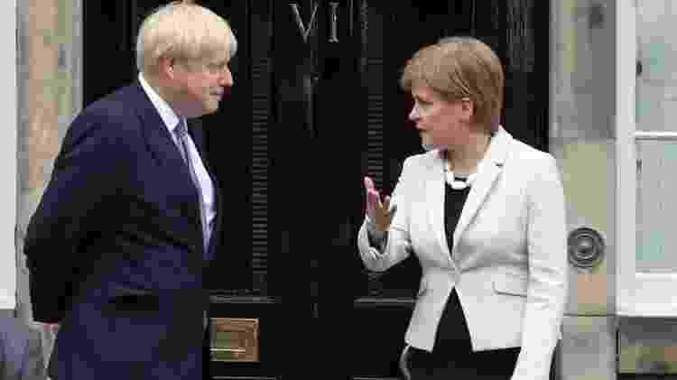 O primeiro-ministro britânico, Boris Johnson, se opõe à realização de um novo referendo - PA Media - PA Media