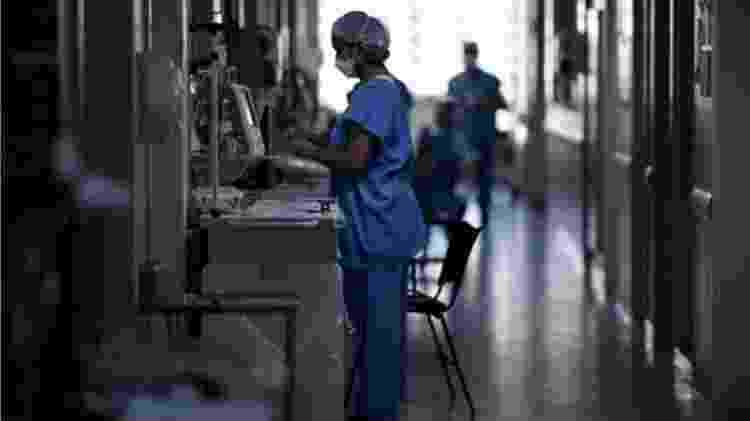 Exames feitos durante internações costumam identificar comorbidades desconhecidas por pacientes - DOUGLAS MAGNO/AFP VIA GETTY IMAGES - DOUGLAS MAGNO/AFP VIA GETTY IMAGES
