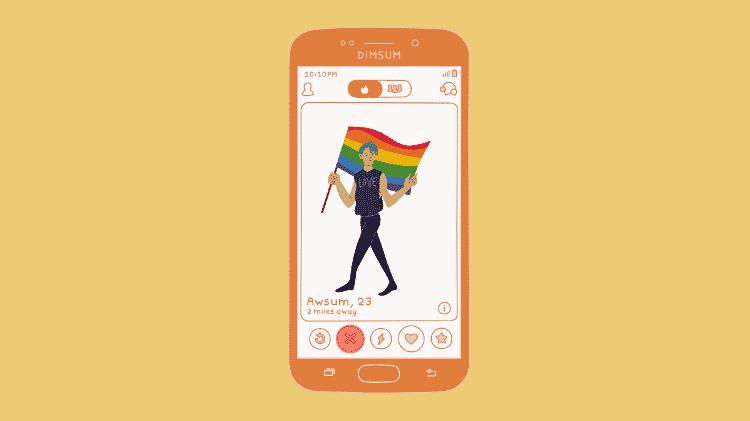 Rosto ou do corpo: o que a foto de perfil diz sobre usuários de apps LGBTQ? - Rafaella Robba/Canva - Rafaella Robba/Canva