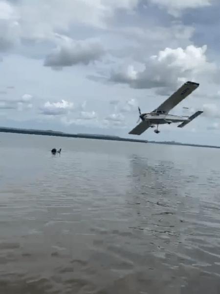 Piloto foi levado até delegacia após manobras perigosas em voo - Reprodução/Redes Sociais