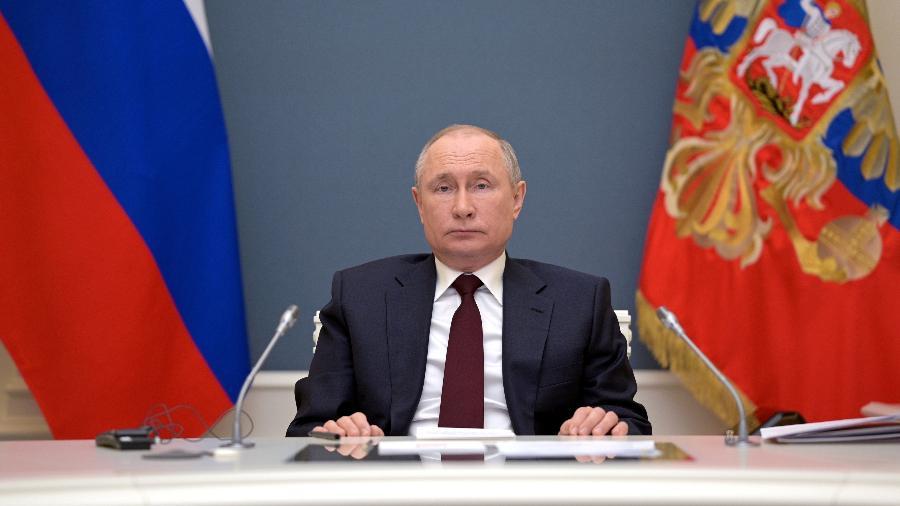 Às vésperas da COP26, presidente Vladimir Putin anuncia que Rússia quer atingir neutralidade de carbono até 2060 - Sputnik/Alexei Druzhinin/Kremlin