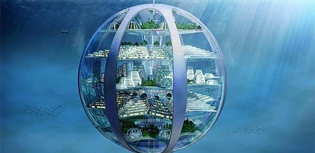 Para especialistas, o fundo dos oceanos será um bom lugar para construir 'cidades-bolhas'