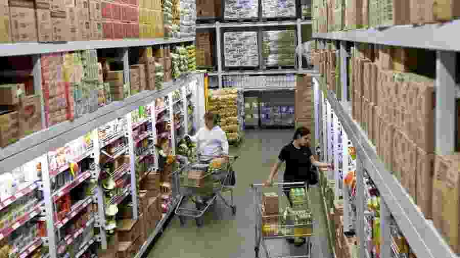 Loja do Assaí varejista; alta nas ações da GPA - Silvia Zamboni/Folhapress