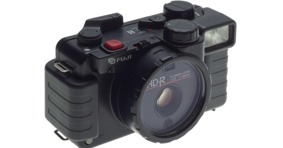 Câmera de filme da Fuji (1986). Esse é um dos objetos extintos que integram a enciclopédia virtual criada pela startup russa Thngs para eternizar tecnologias do passado