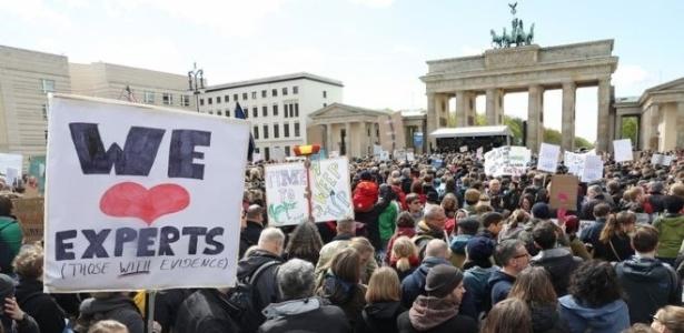 Organizadores esperam reunir até 75 mil pessoas em marcha em Washington