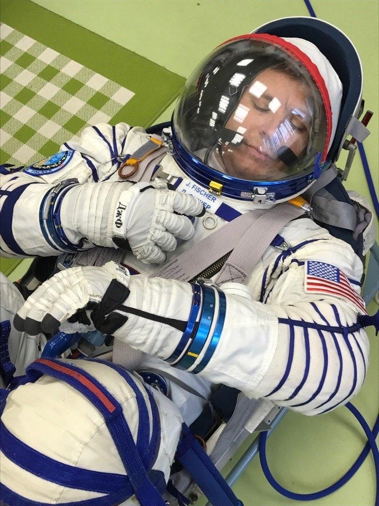 Astronauta da Nasa Jack Fischer teme idas ao banheiro no espaço