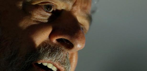 Lula durante evento em Brasília - Adriano Machado - 13.dez.2017/Reuters