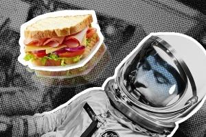 #LigadoNoMundo: O sanduíche que foi para o espaço e causou treta na Nasa (Foto: Arte/UOL)