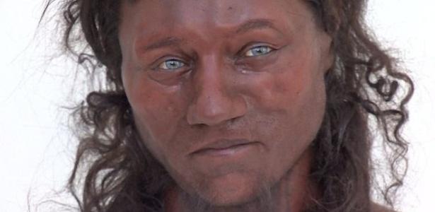 Com base nos dados, cientistas reconstruíram o que acreditam ter sido o rosto do Homem de Cheddar - Channel 4