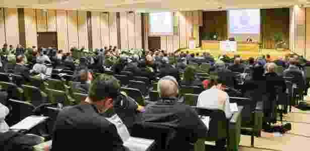 Grupo acompanha curso de exorcismo no Ateneu Pontifício Regina Apostolorum - Divulgação