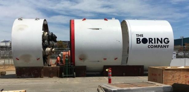 Hyperloop promete revolucionar transporte entre cidades dos EUA.
