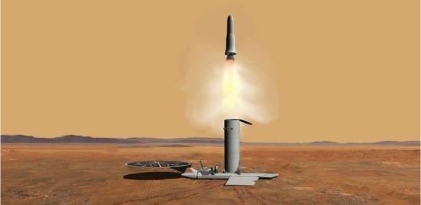 Missão poderá trazer amostras de Marte a serem estudadas em laboratórios na Terra