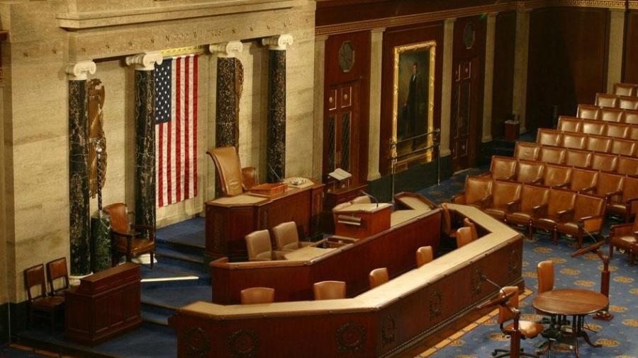 """""""Meu objetivo é que tenhamos um acordo até o final do dia"""", disse o senador democrata Jon Tester - House of Representatives/Divulgação"""
