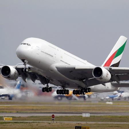 A380, o maior avião comercial do mundo - Regis Duvignau/Reuters