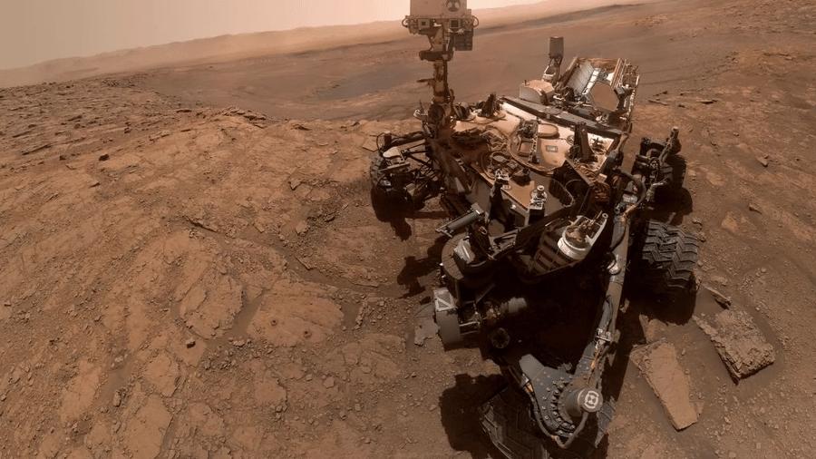 Roboô Curiosity faz selfie em Marte - Reprodução/NASA