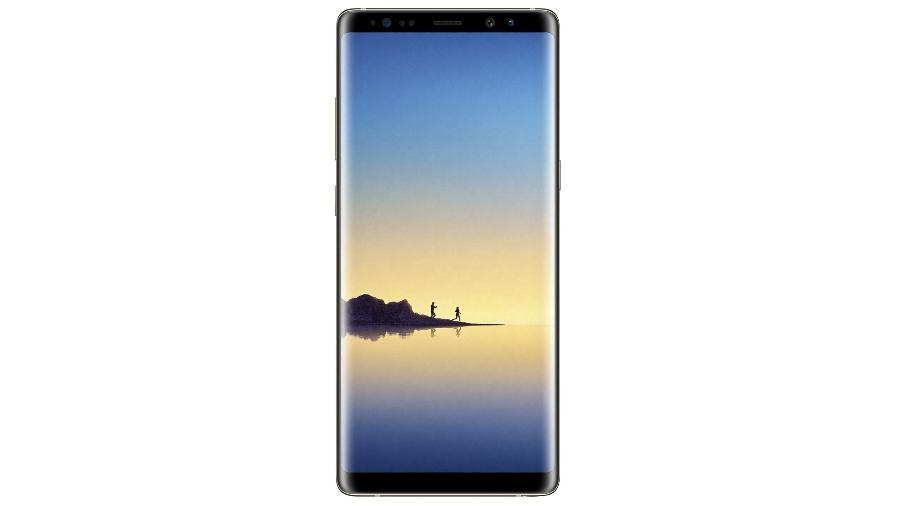 Entre os destaques está o Galaxy Note 8 de 64 GB com lance inicial de R$ 250 - Divulgação