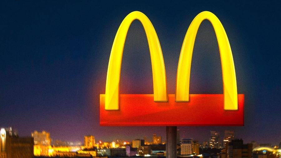 """McDonald""""s afasta arcos dourados de seu """"M"""" em ação simbólica contra coronavírus - divulgação/McDonald""""s"""