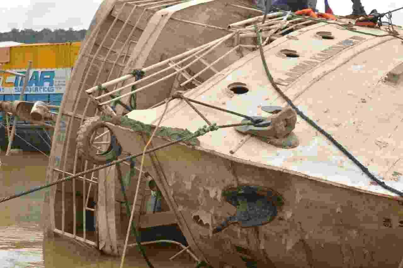 Naufrágio matou mais de 30 pessoas no Amapá - Governo do Amapá