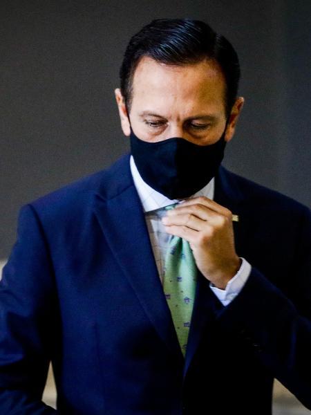 """"""" Não vejo razão para aumento de carga tributária, apesar de toda a circunstância da pandemia e do enfraquecimento da economia brasileira"""", disse governador de SP - ALOISIO MAURICIO/ ESTADÃO CONTEÚDO"""